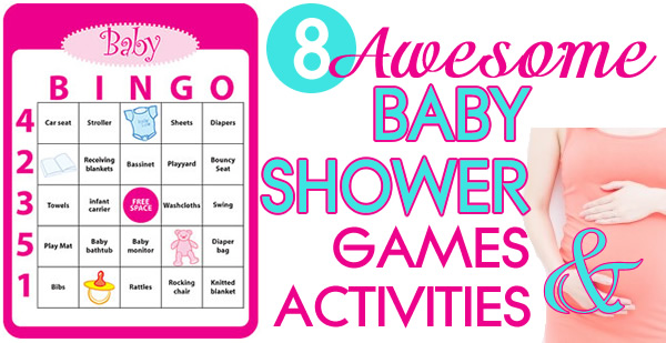 awesome baby shower games and activities