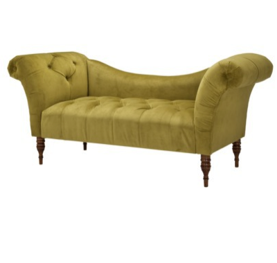 Nursery room must haves time to decorate for Button tufted chaise settee velvet