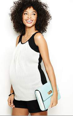 Short Maternity Outfit
