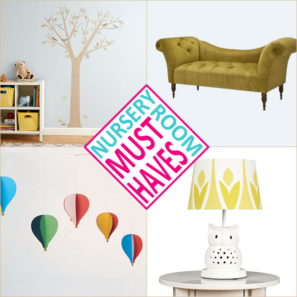 Nursery Room Must Haves